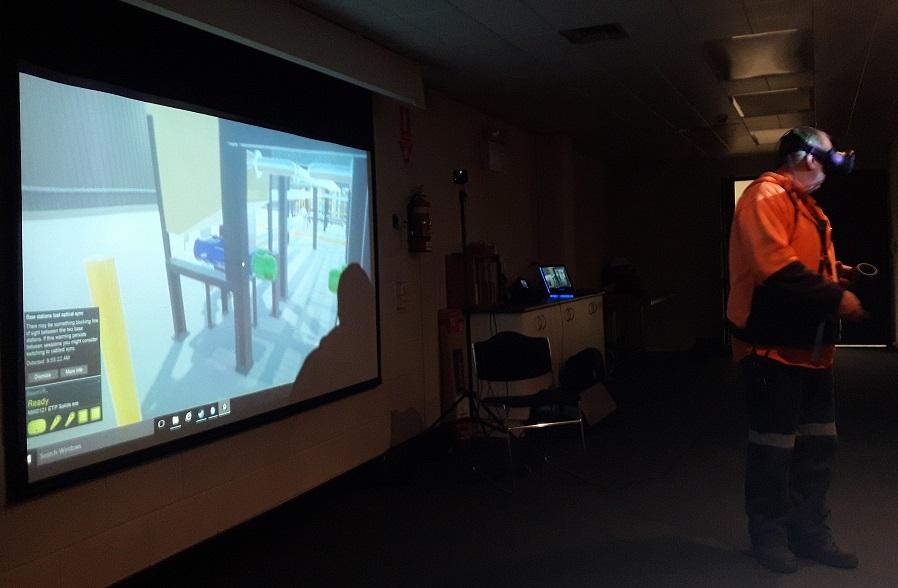 Safety Training Through VR